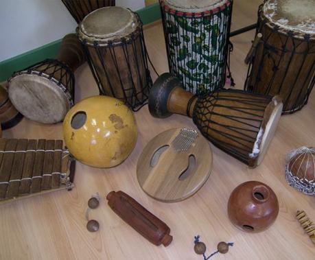 Percussions d'Afrique de l'Ouest